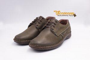 Pantofi din piele naturala cusatura manuala pentru barbati Constanta