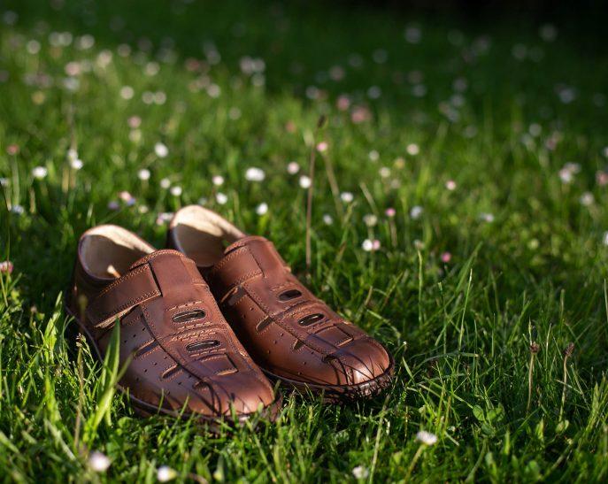 Sandale din piele naturala, producator incaltaminte piele Suceava