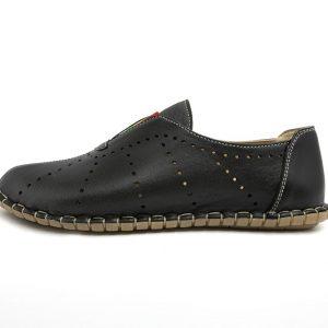 Pantofi de dama cu talpa cusuta manual